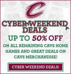 Cyber Weekend Deals! Up to 50% off remaining home games!