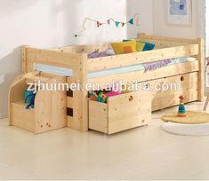 Niños cama litera, cama de los niños-en Camas para niños de Mobiliario Infantil en m.spanish.alibaba.com.