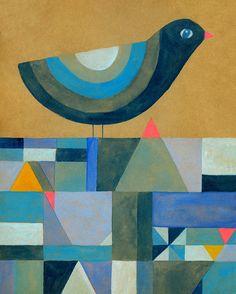 Blue Bird | Lisa Congdon Art + Illustration | Bloglovin'