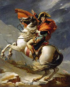Jacques-Louis David | Napoleon Crossing the Alps on 20th May 1800, 1803