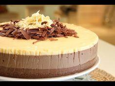 Encuentra el texto completo de esta receta en http://elgourmet.com/receta/torta-tres-mousses elgourmet.com - Una receta de Maru Botana