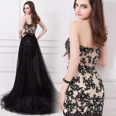 HK2821F Hot Sale Sexy Long Prom Dresses 2015 For Prom Dresses Sleeeless with Detachable Train Actual Image Natural - http://www.aliexpress.com/item/HK2821F-Hot-Sale-Sexy-Long-Prom-Dresses-2015-For-Prom-Dresses-Sleeeless-with-Detachable-Train-Actual-Image-Natural/32339260667.html
