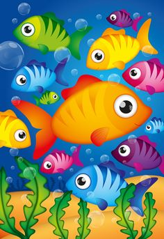 Many Fishes In The Sea Pieces