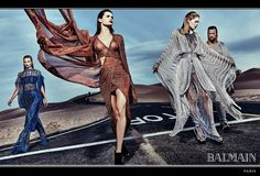 CAMPAIGN: Balmain Spring 2017 by Steven Klein Image Amplified