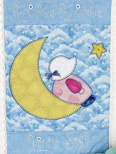 Quilting - Wall Quilts - Twinkle, Twinkle Little Star Free Quilt Pattern
