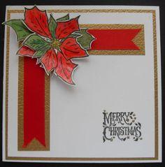 Poinsettia and ribbon Poinsettia, Christmas Cards, Ribbon, Flag, Merry, Art, Christmas E Cards, Tape, Art Background