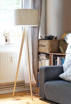 Interior | New Scandinavian tripod lamp by Westwing