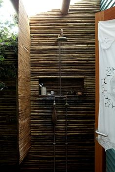 Rustic Showers pretty nice and rustic outdoor shower | our style | pinterest