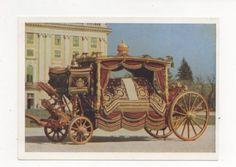 Wien-Kunsthistorisches-Museum-Wagenburg-Schoenbrunn-Leichenwagen-Postcard-372a