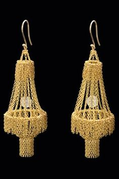 Solange Azagurgy-Partridge earrings. One of my favorite jewelry lines.