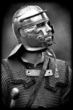 Roman legionary - reenactment