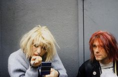 CL and KC by Dora Handel, 1992.