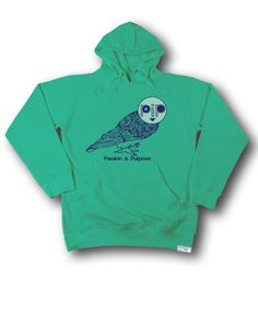 Hoodie: Passion is Purpose (PiP) Owl