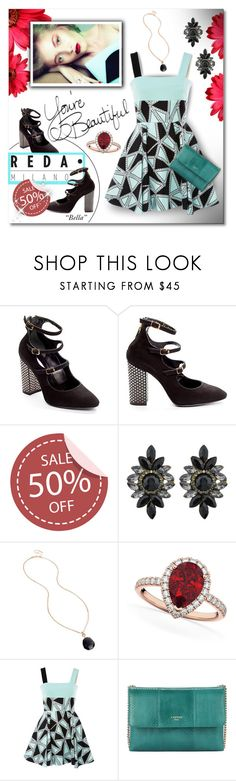 """Reda Milano Fashionable Woman's Shoes"" by jara43 ❤ liked on Polyvore featuring Kenneth Cole, Allurez, FAUSTO PUGLISI and Lanvin"