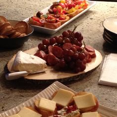 We love the concept of tapas at a wedding reception!