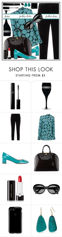 """""""polka style"""" by sandevapetq ❤ liked on Polyvore featuring Waterford, Brunello Cucinelli, Marni, Bally, Louis Vuitton, Marc Jacobs, Acne Studios, Speck, Kim Rogers and John Hardy"""