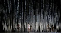 ES DEVLIN_CONNECTOME, Royal Ballet May 2014 Choreography : Alistair Marriott Design : Es Devlin Costume: Jonathan Howell Lighting : Bruno Poet Video Design: Luke Halls