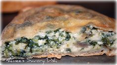Easy Spinach Calzones