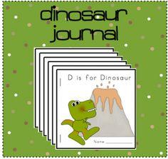 Printable Dinosaur Journal for my dinosaur theme.