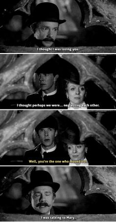 "Sherlock ""The Abominable Bride"" Christmas Special - Sherlock, John and Mary #funny"