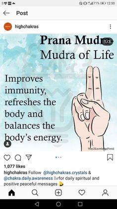 Yoga Mantras, Yoga Quotes, Meditation Benefits, Yoga Meditation, Massage, Affirmations For Anxiety, Mudras, Acupressure Points, Palmistry