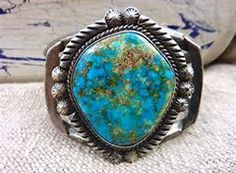 Image result for vintage sterling native american sleeping beauty turquoise cuff bracelet