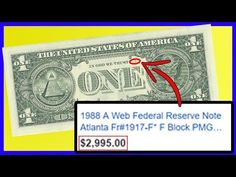 $1 Bill WORTH THOUSANDS! Check If You Have One NOW! Rare Dollar Bills Worth Money! - YouTube