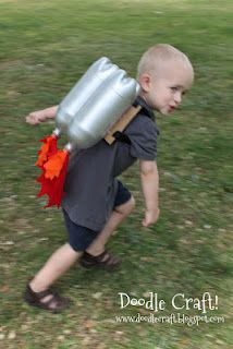 DIY Jetpack--cute gift for a little guy.