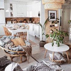 Home Decor Scandinavian .Home Decor Scandinavian Boho Decor Diy, Hippie Home Decor, Diy Home Decor, Hippie Apartment Decor, Rustic Apartment, Cozy Apartment, Apartment Therapy, Living Room Decor, Bedroom Decor