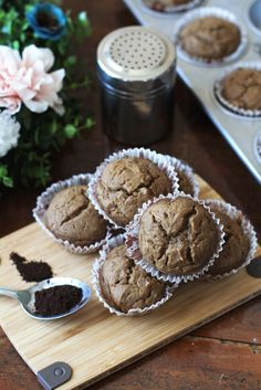 Dorie's Coffee Muffins Recipe   Super easy muffins with the unmistakable scent and flavour of coffee. Add chocolate chips for early morning indulgence!