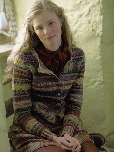Fair isle and plaid | Rowan Knitting and Crochet Magazine 52 via http://www.attica-yarns.co.uk