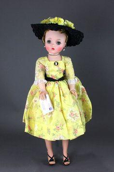 "20"" Vintage Madame Alexander Cissy ""GARDEN PARTY."""