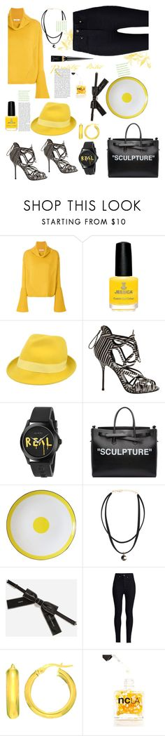 """""""Reality Bites"""" by felicitysparks ❤ liked on Polyvore featuring Dorothee Schumacher, Altea, Pierre Hardy, Gucci, Off-White, Dolce&Gabbana, Rodarte, ncLA and Christian Louboutin"""