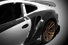 Aerodynamic body kit Stinger GTR for Porsche 991 Turbo/Turbo S / TopCar