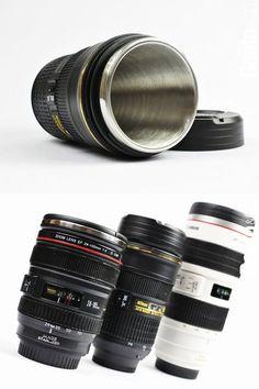 Camera Lens Mug! #mug I need this