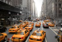 NYC rush hour traffic....nothing like fighting in your lane!