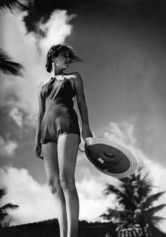 Toni Frissel, Model for Vogue, 1935