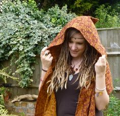 Hooded Scarf, Pixie Snood, Pashmina Fleece Scoodie