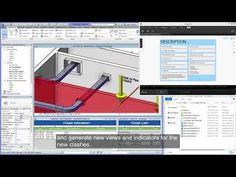 Out of screen autodesk navisworks 3d engineering model rendering of workflow improves clash detection between mep and structural designs using a live link between revit and fandeluxe Images