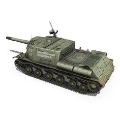 isu 152 – 65 – soviet heavy self-propelled gun model tank 265717 Isu 152, Model Tanks, Military Vehicles, Guns, Army, Weapons, Russia, Weapons Guns, Gi Joe