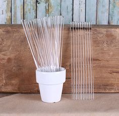 Clear cake pop sticks are great for chocolate lollipops, cake pops, marshmallow pops, rice crispy pops and more! The best part about these lollipop sticks is that they are reusable! COUNT: 24 clear ac