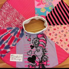 Dr. Seuss UpCycled Twirl Skirt from Giggly Girl Bowtique on Facebook!