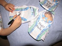 """Labeling pull up diapers as """"Flight Pants"""" change diapers into astronaut-cool-flight-necessities. Perfect for the potty trained traveler who may not make it to the toilet in time! Couches, Pull Ups Diapers, Portable Toilet, Potty Training, Astronaut, Hold On, Change, Pants, Trouser Pants"""