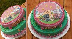 Verjaardagstaart voor de één-jarige Jade