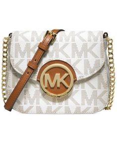 Free shipping and returns on MICHAEL Michael Kors \u0026#39;Fulton\u0026#39; Crossbody Bag at A sleek monogram medallion and an allover logo print affirm your label loyalty ...