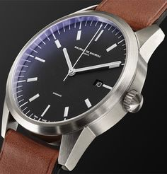Dress watches are the perfect statement pieces to subtly stand out at a special occasion. Browse the selection of top designer dress watches at MR PORTER. Rolex Watches, Watches For Men, Mr Porter, Industrial Design, Menswear, Stainless Steel, Top Mens Watches, Male Clothing, Industrial By Design