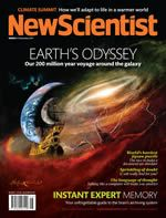 New Scientist - a great science mag from the UK. The website features all the latest science news.