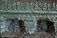 Antique Architectural carved panel