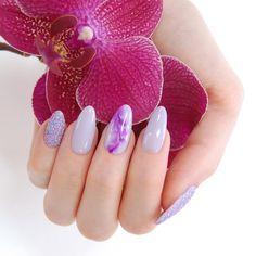 Fioletowa stylizacja / paznokcie hybrydowe / NeoNail