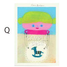 ポストカード5枚セット用の絵柄です。Q商品はSAMPLE desiiの文字がないものになります|ハンドメイド、手作り、手仕事品の通販・販売・購入ならCreema。